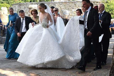 Hochzeit Swarovski by Swarovskis 800 000 Brautkleid Ist Der Neuste