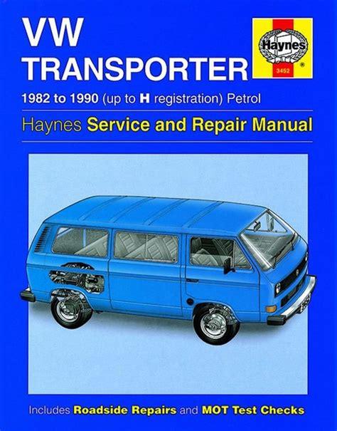 Vw Transporter Repair Manual 1982 1990 Haynes 3452
