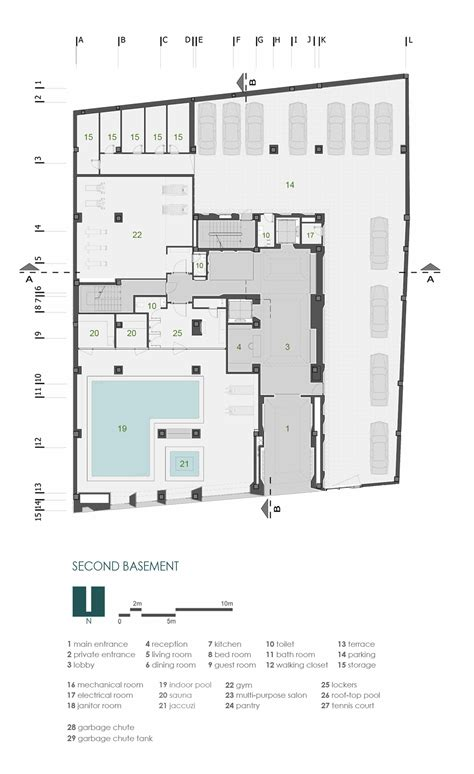 residential plan residential building site plan modern house