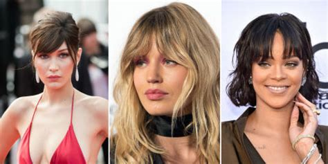 people with big foreheads who pull it off best fringe hairstyles for 2017 how to pull off a fringe