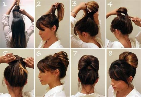 Easy Hairstyles For To Learn by Easy Hairstyles For 5 Minutes Nail Styling