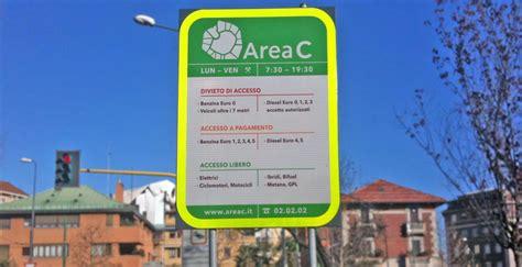 ingressi area c dal 7 aprile dimezzata la mini multa per area c matteo forte