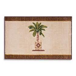 Palm Tree Bathroom Rugs Avanti Banana Palm Bath Rug Bed Bath Beyond