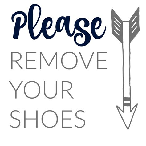 no shoes sign for house 1000 ideas about remove shoes sign on pinterest no shoes sign shoes off sign and