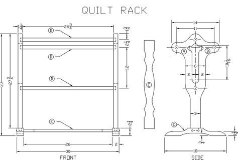 How To Build A Quilt Rack by Quilt Rack Plans 187 Plansdownload