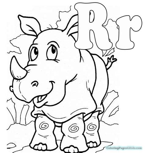 alphabet r coloring pages coloring pages for kids alphabet letter r coloring pages