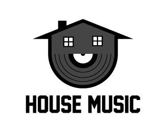 i love house music logo house music designed by hirurg brandcrowd