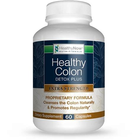 Healthy Colon Detox by Strength Healthy Colon Detox Plus Healthynow Brands