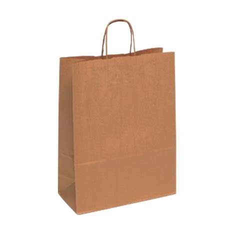 Brown Craft Paper Bags - tbr7111lk large brown kraft paper carrier bags