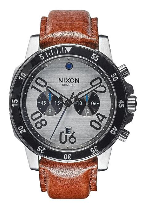 Jam Nixon Patriot Leather Black Original 100 ranger for nixon watches and premium accessories