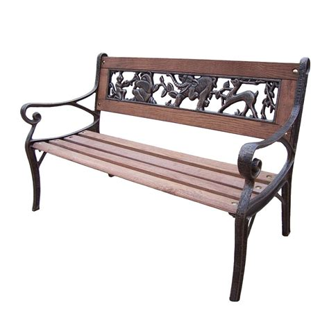 outdoor decorative bench garden decorative outdoor bench with animal design hd6051