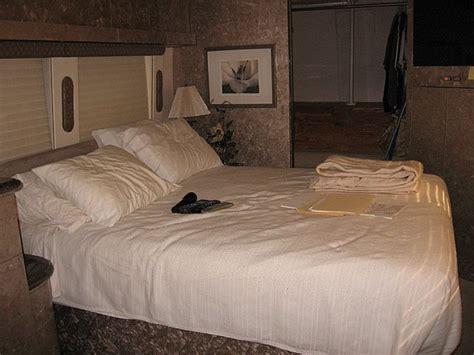 rv bedroom prevost rv bedroom interior remodels at premier motorcoach