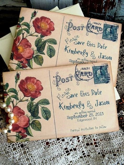 25  best ideas about Postcard invitation on Pinterest