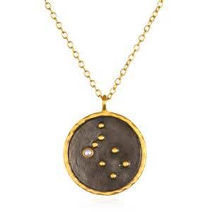 gemini zodiac pearl necklace satya jewelry