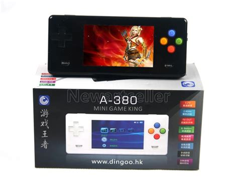 emulator handheld console 3color dingoo a380 handheld emulator console a320 ebay