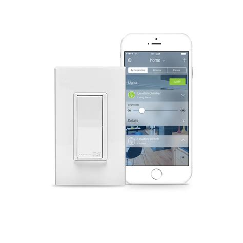 light switches that work with home leviton 15 decora smart with homekit technology switch