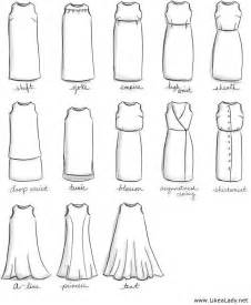 names for types of dresses fashion terms pinterest