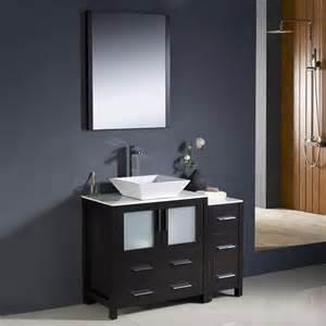 shop fresca bari espresso single vessel sink bathroom