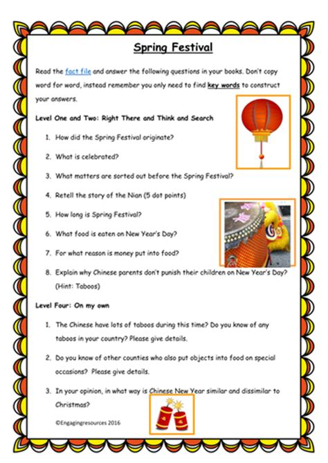 new year activities tes festival new year qar themed literacy
