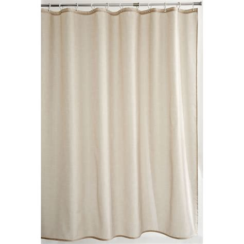 Natural Beige Shower Curtain Next Day Delivery Natural