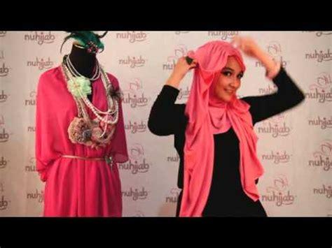 tutorial turban ninja instan tutorial hijab tni turban ninja instant pink ala