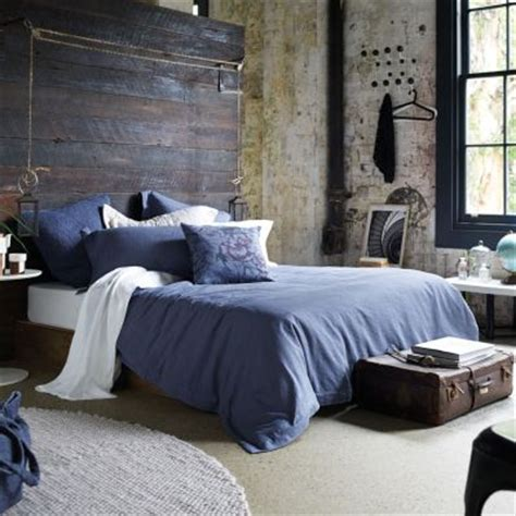 rustic blue bedroom industrial bedroom decor rustic industrial bedroom and