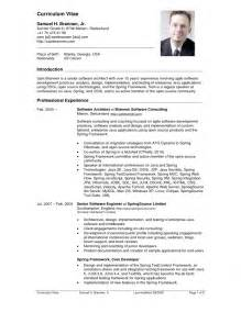 Coffee Shop Resume Sle by Cv Sle 100 More Photos