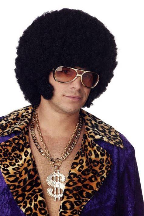 home wigs mens wigs black clown afro wig black clown afro black afro chops wig candy apple costumes men s 70 s