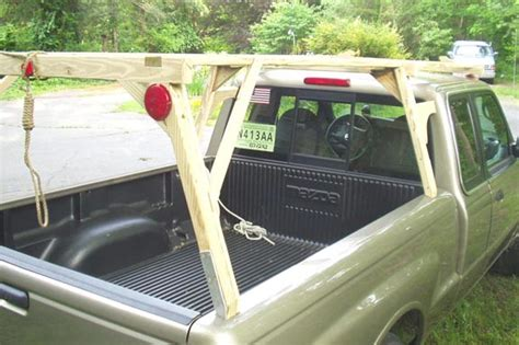 Diy Ladder Rack Truck by Should I Go For Canoe Rack Plans A Hobbyist Answers