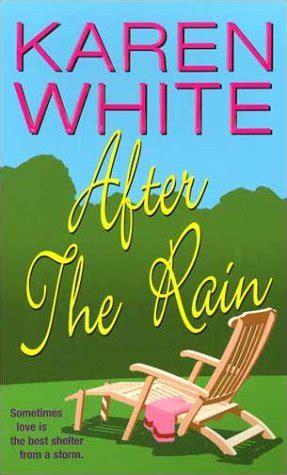 libro rain libro after the rain di karen white