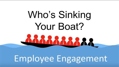 row the boat speech employee engagement who s sinking your boat youtube