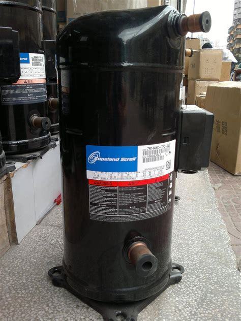 copeland zr series scroll air conditioning compressor zr144kc tfd 522 manufacturer supplier