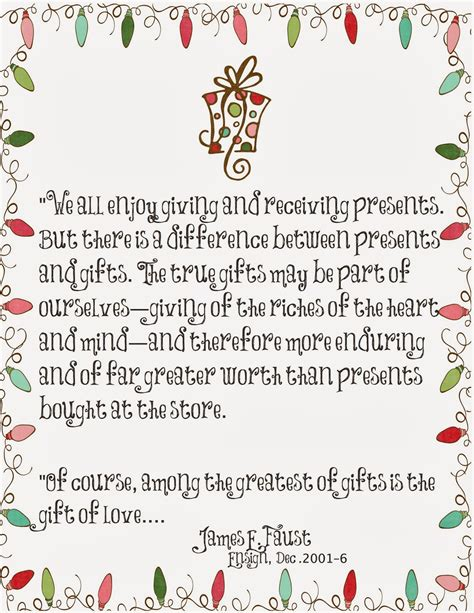 christmas gift giving quotes mormon planners monthly planner weekly planner gifts