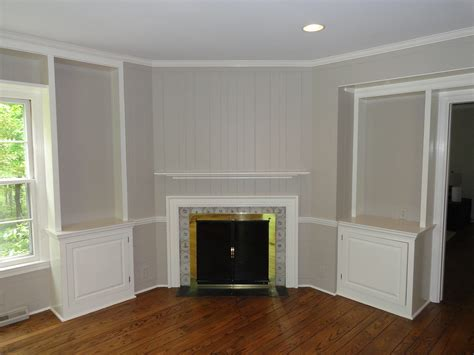 Painting Over Paneling | panelling is easy to paint over home improvement