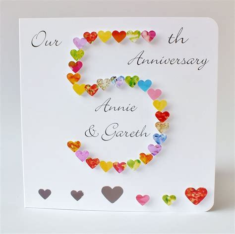 5th Wedding Anniversary Cards For Wife ? liamd.pw