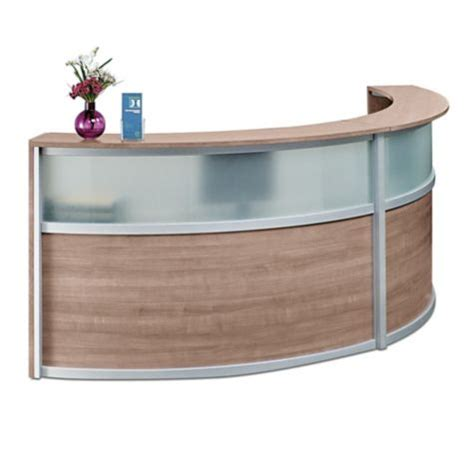 reception desk glass curved reception desk glass panel officefurniture