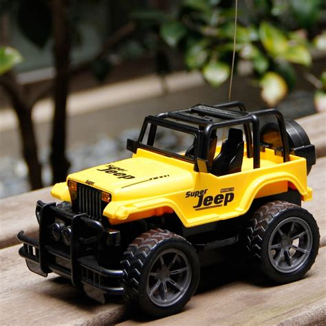jeep toy car rc jeep 1 24 drift speed radio suv remote control off road