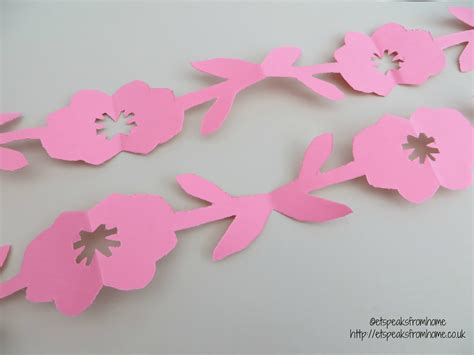 How To Make Flowers By Paper Cutting - paper cut tulip flower border et speaks from home