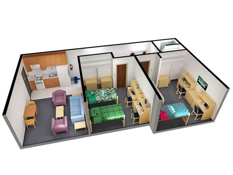 shared housing shared apartments office of residence life university