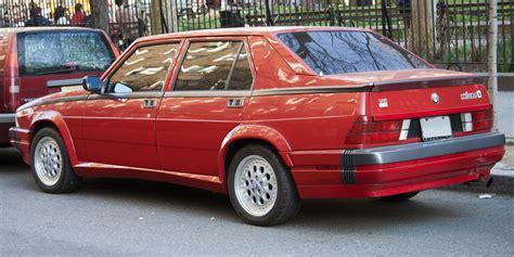 Alfa Romeo Verde by 1987 Alfa Romeo Verde Alfa Romeo 75 Turbo