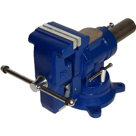 bench vise home depot yost 5 in heavy duty multi jaw rotating combination pipe