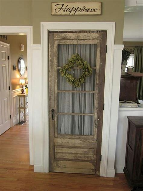 old vintage door used for pantry door make it a home pinterest