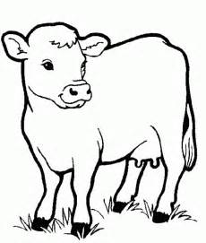 coloring pages for toddlers to print coloring pages cow animals coloring pages for