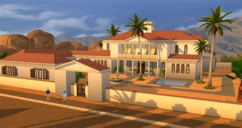 French Chateau Style Homes lacey loves sims roman villa