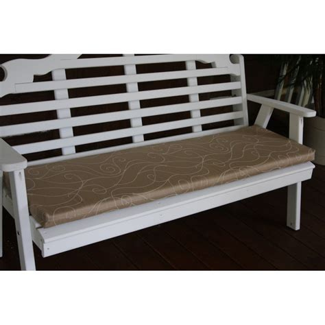 6 foot outdoor bench cushions 6 ft bench porch swing glider outdoor cushion
