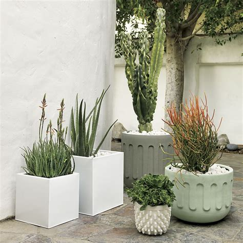 Cb2 Planters by Easy Breezy Summer House Style