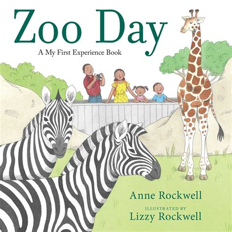 zoo picture book zoo day book by rockwell lizzy rockwell official