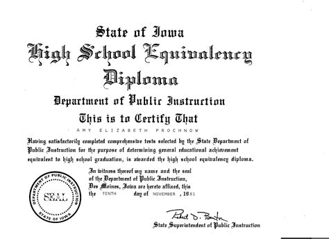ged certificate template ged diploma template images