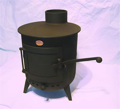 Handmade Wood Burning Stoves - beautiful cooper classic pot belly wood burning stove