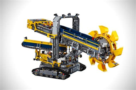 lego technic wheel excavator lego technic wheel excavator hiconsumption